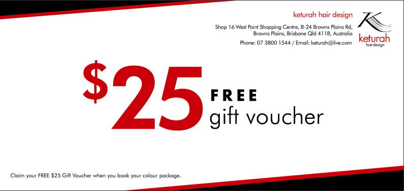 Gift Vouchers | Keturah Hair Design