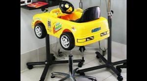 Kids hair cuts-race car cutting chair- Keturah Hair Design-hair salon Browns Plains 0448749647.