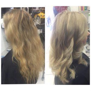Sandy blonde hair cut and style- Keturah Hair Design-hair salon Browns Plains 0448749647.