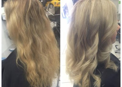 Sandy blonde hair cut and style- Keturah Hair Design-hair salon Browns Plains 0448749647.