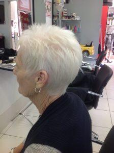 Short grey hair style and cut- Keturah Hair Design-hair salon Browns Plains 0448749647.