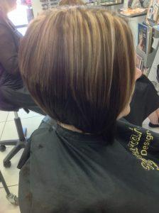 Style cut and highlights- Keturah Hair Design-hair salon Browns Plains 0448749647.