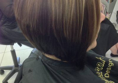 Style cut and highlights- Keturah Hair Design-hair salon Browns Plains 0448749647.