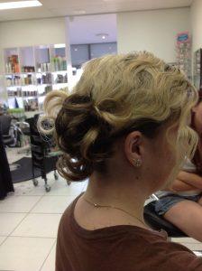 hair up with brown and blonde colours- Keturah Hair Design-hair salon Browns Plains 0448749647.