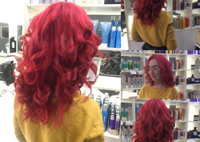 long curly red hair- Keturah Hair Design-hair salon Browns Plains 0448749647.